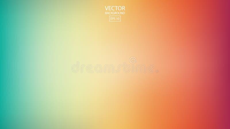 Fondo regolare astratto dell'arcobaleno, progettazione vaga variopinta, vec royalty illustrazione gratis