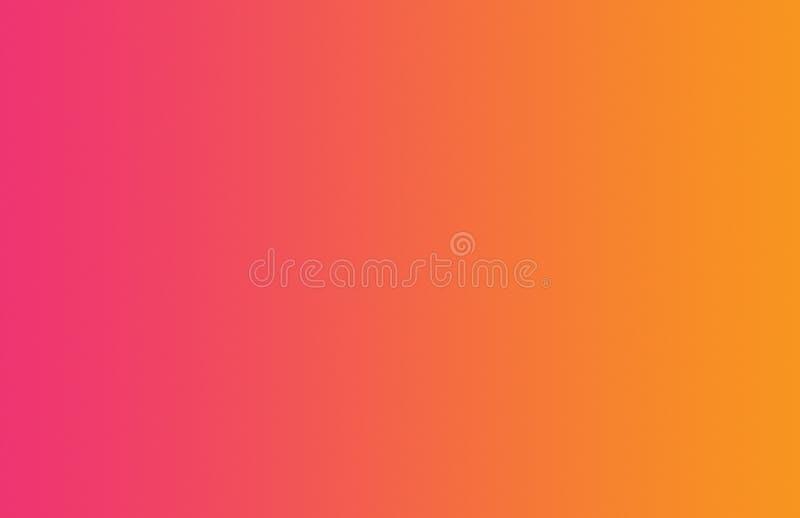 Fondo regolare rosa arancione di pendenza immagine stock
