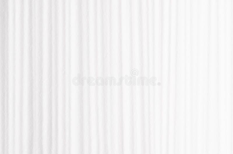 Fondo regolare a strisce astratto bianco con le linee verticali fotografie stock libere da diritti