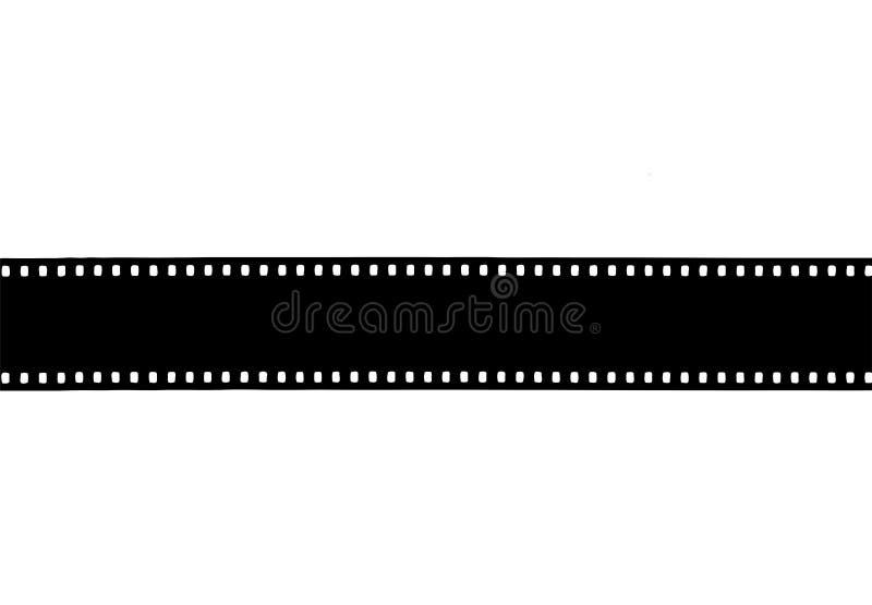 fondo retro abstracto negativo de la película del vintage de 35m m stock de ilustración