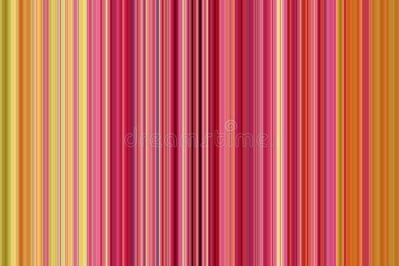 Fondo retro con las rayas verticales coloridas stock de ilustración