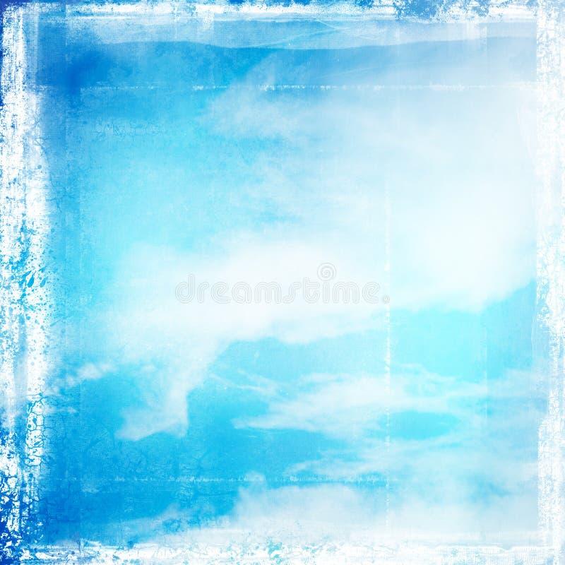 Fondo retro del cielo imagen de archivo libre de regalías