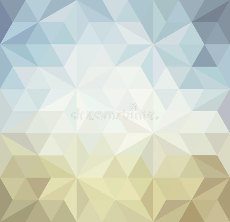 Fondo retro del triángulo libre illustration