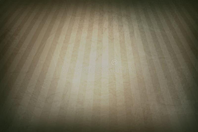 fondo retro gris con las fronteras descoloradas del grunge y el efecto del resplandor solar de las rayas o el diseño gris suave d foto de archivo libre de regalías