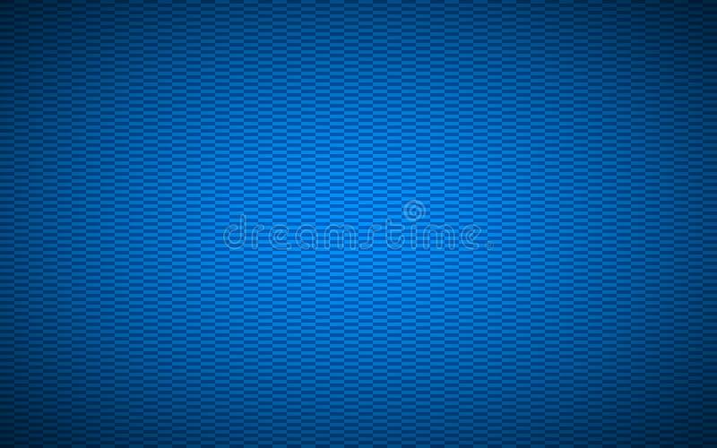 Fondo rettangolare strutturato astratto blu illustrazione di stock