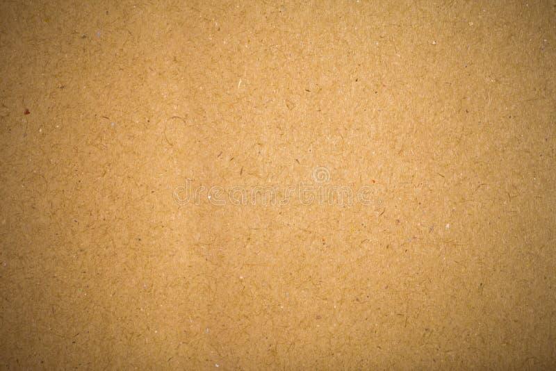 Fondo riciclato della carta marrone fotografia stock