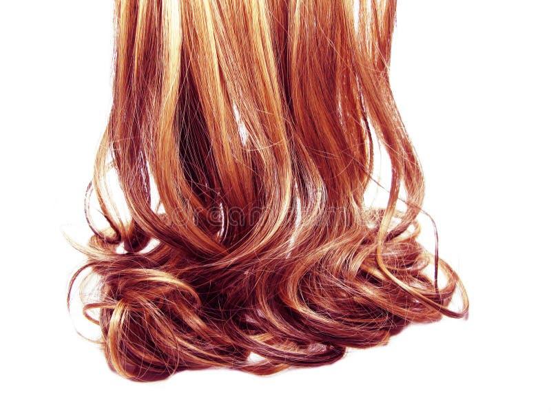 Fondo rizado de la moda del extracto de la textura del pelo imágenes de archivo libres de regalías