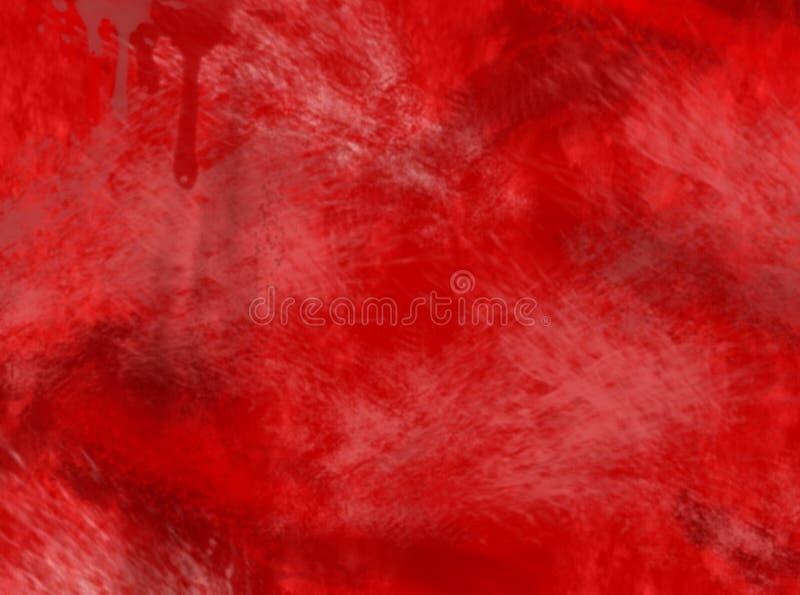 Fondo rojo stock de ilustración