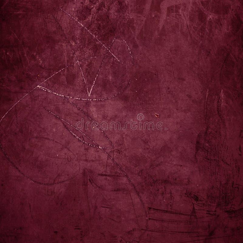 Fondo rojo abstracto con textura del grunge Para el diseño del vintage imagen de archivo