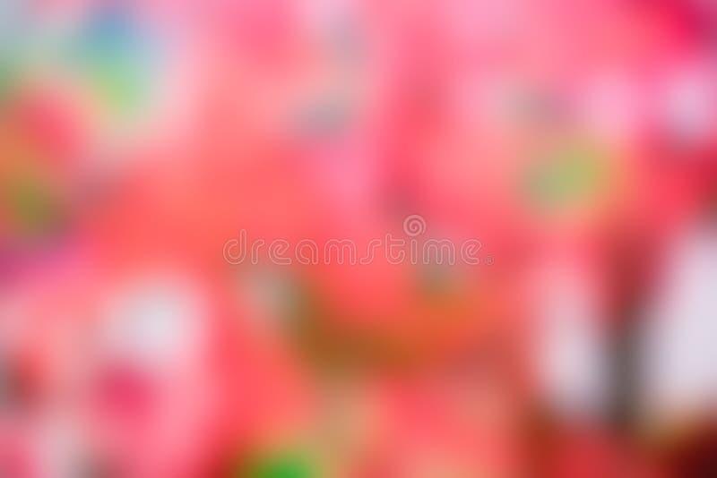 Fondo rojo abstracto soleado de la naturaleza imágenes de archivo libres de regalías