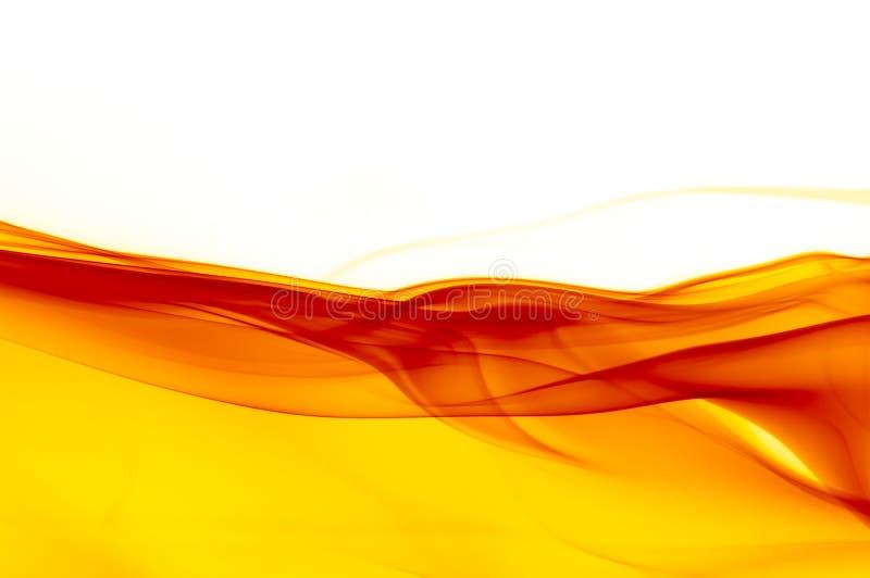 Fondo rojo, amarillo y blanco abstracto stock de ilustración