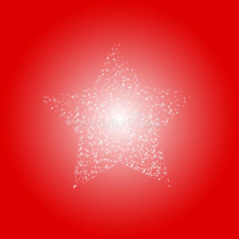 Download Fondo Rojo Con Las Estrellas Ilustración del Vector - Ilustración de holiday, noel: 7282830