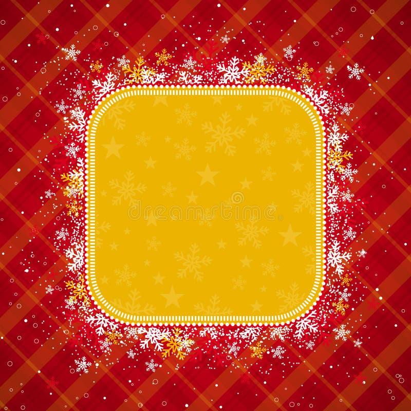 Fondo Rojo De La Navidad Imagenes de archivo