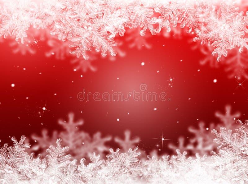Fondo rojo de la Navidad Fondo del Año Nuevo imagen de archivo libre de regalías
