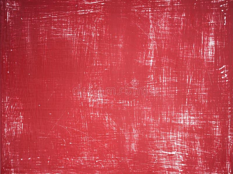 Fondo rojo de madera imágenes de archivo libres de regalías
