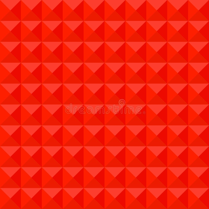 Fondo rojo de modelo de mosaico, gráfico poligonal del ejemplo del vector, creativo, estilo de la papiroflexia con pendiente stock de ilustración