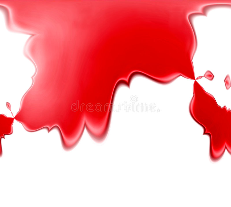 Fondo rojo del derramamiento stock de ilustración