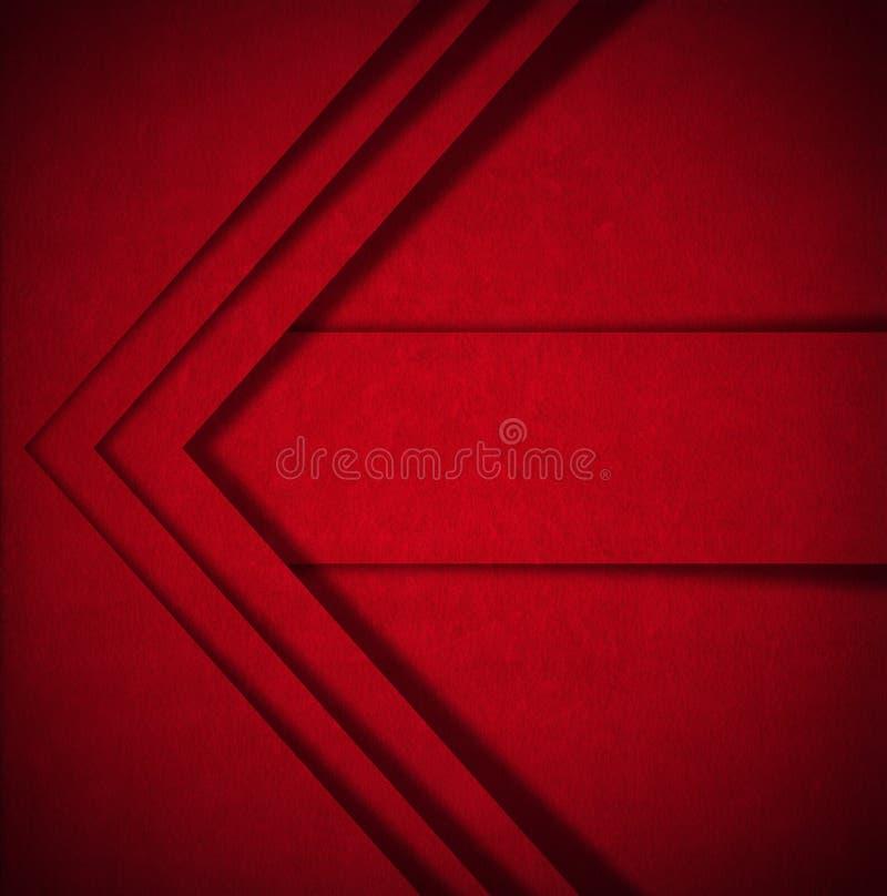 Fondo rojo del extracto del terciopelo libre illustration