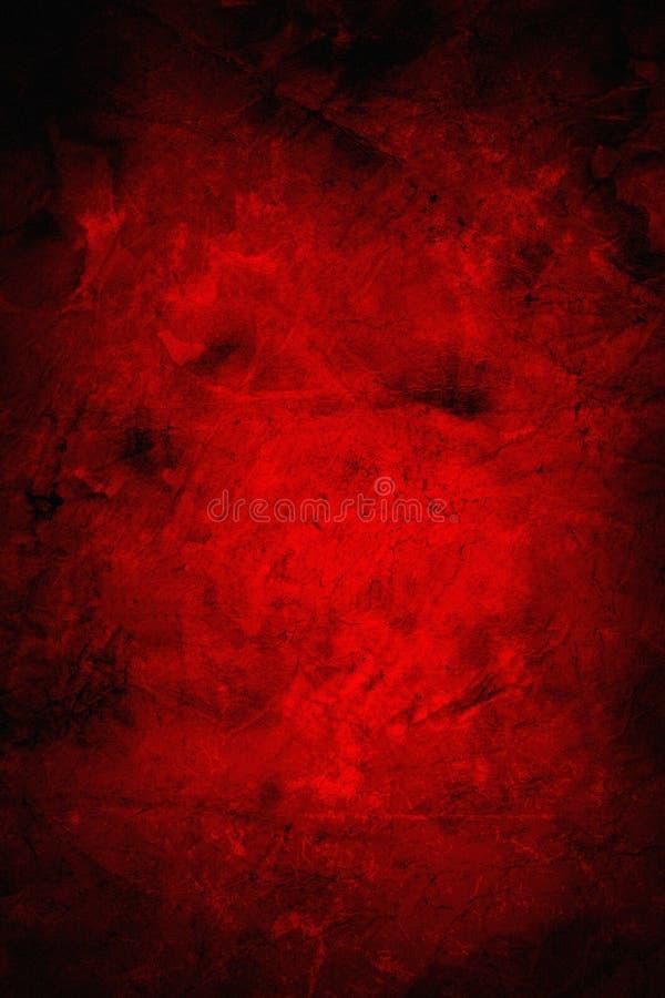Fondo rojo del grunge imágenes de archivo libres de regalías