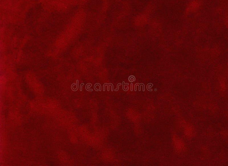 Fondo rojo del terciopelo imagen de archivo libre de regalías