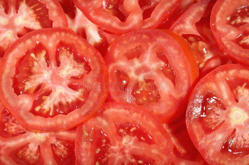Fondo rojo del tomate fotos de archivo libres de regalías