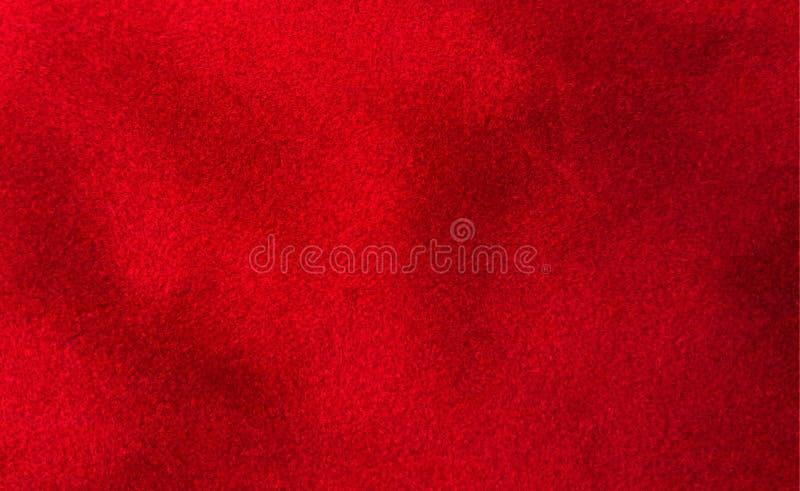 Fondo rojo grueso de lujo del terciopelo imágenes de archivo libres de regalías