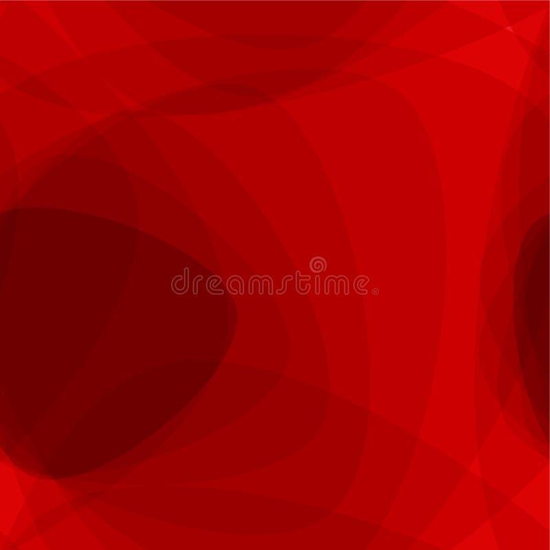Fondo rojo inconsútil stock de ilustración