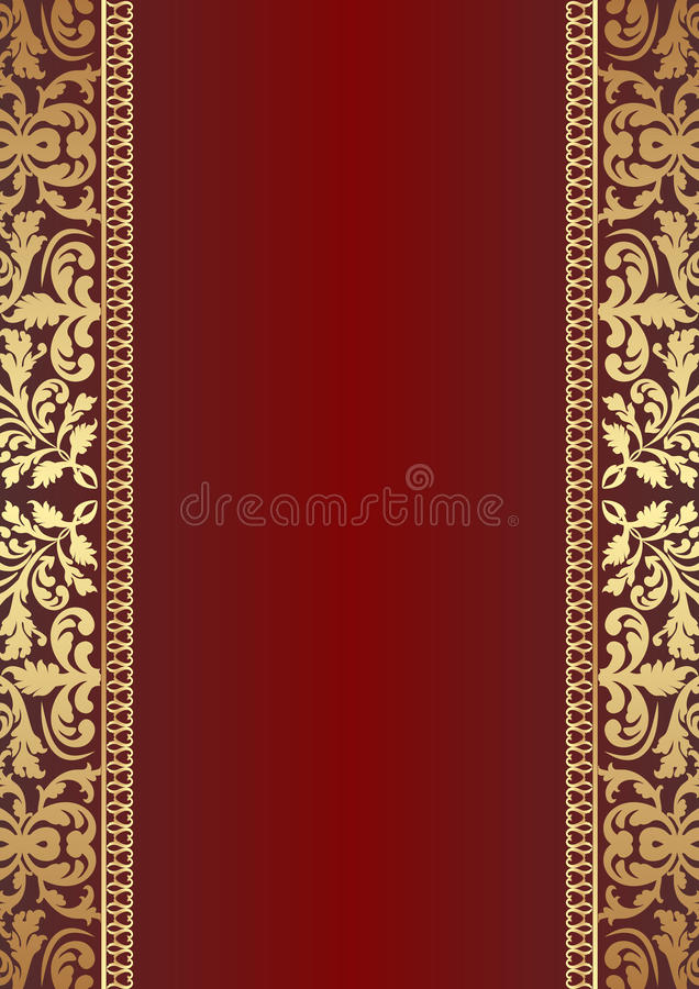 Fondo rojo oscuro stock de ilustración