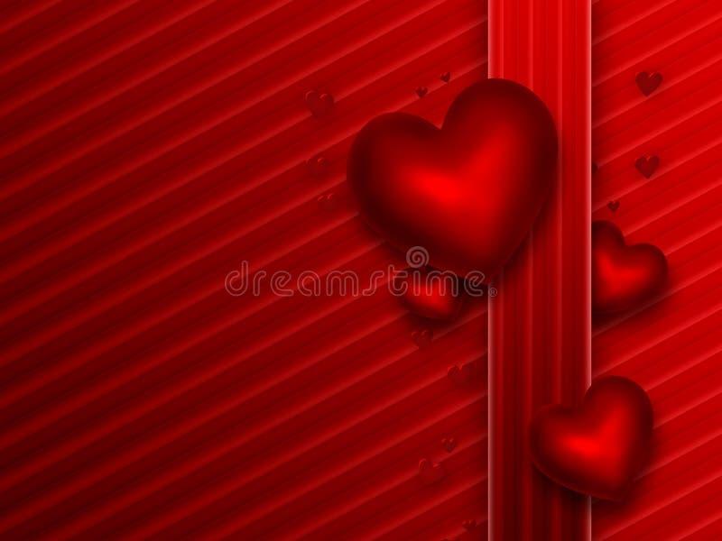 Fondo rojo romántico libre illustration