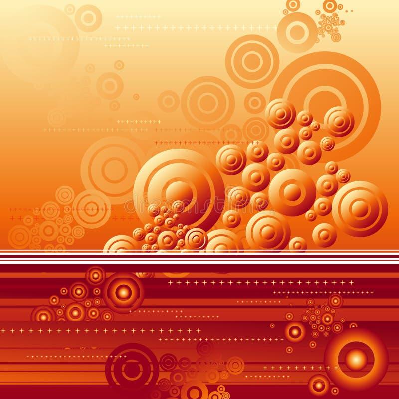 Fondo rojo, vector stock de ilustración