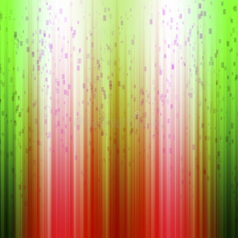 Fondo rojo verde de la Navidad foto de archivo libre de regalías
