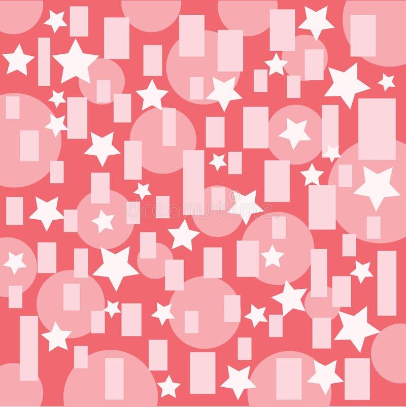 Fondo rosa astratto di progettazione della carta da parati di Pettern di struttura royalty illustrazione gratis