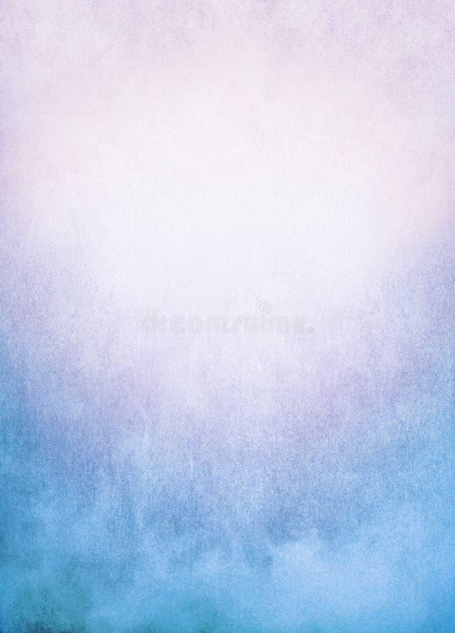 Fondo rosa blu della nebbia fotografie stock