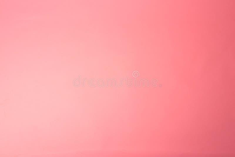 Fondo rosa Corallo alla moda dell'ombra fotografie stock libere da diritti