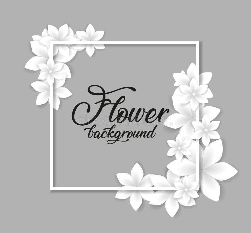 Fondo rosa del fiore royalty illustrazione gratis