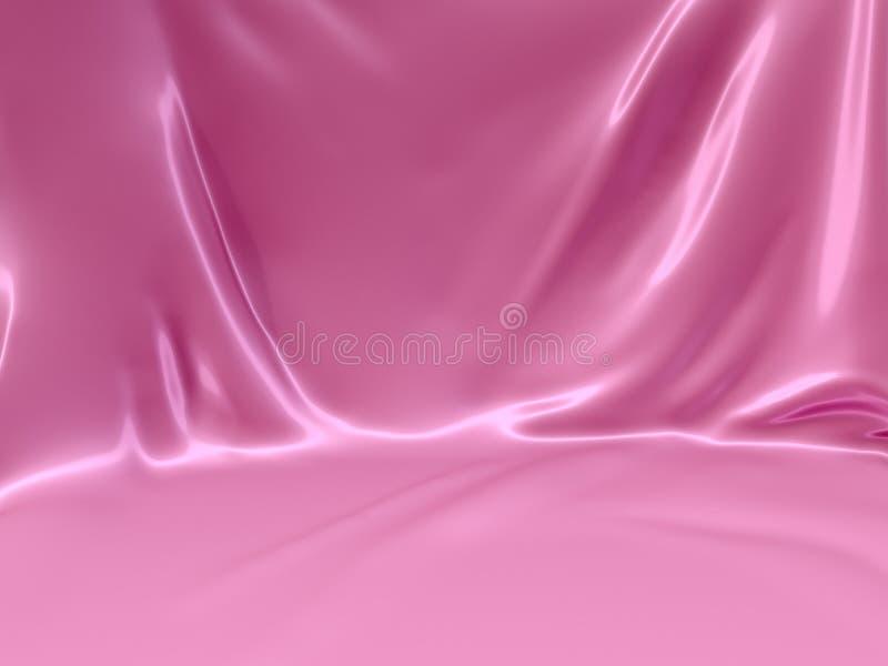 Fondo rosa di colore illustrazione di stock