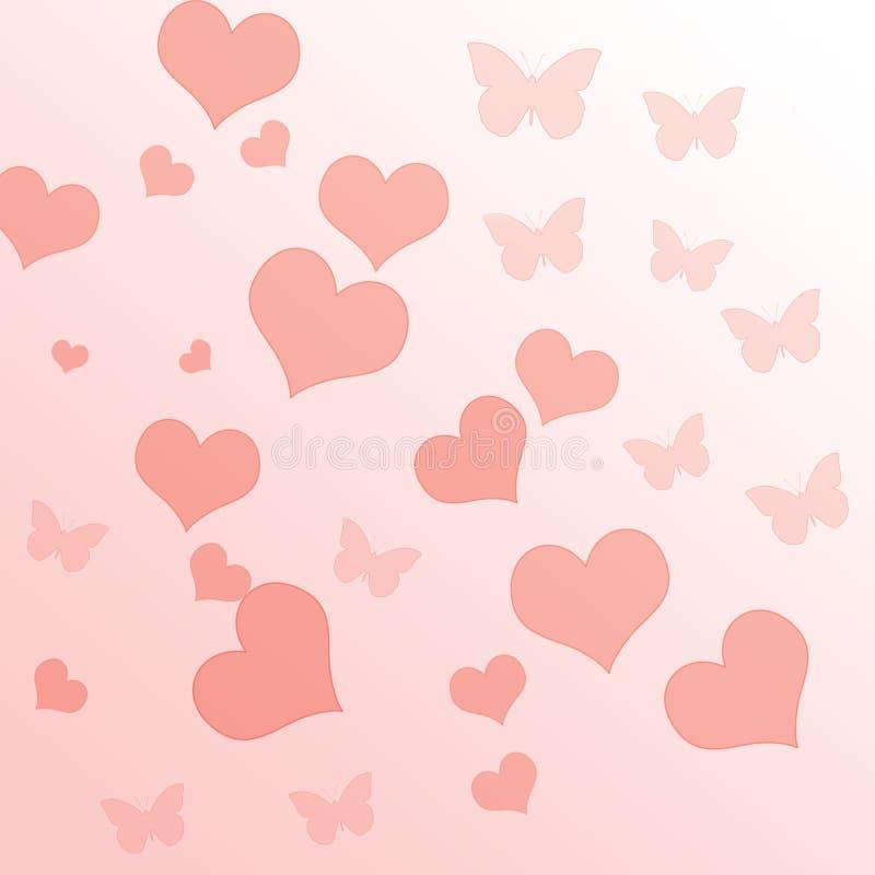 Fondo rosa di pendenza fotografie stock