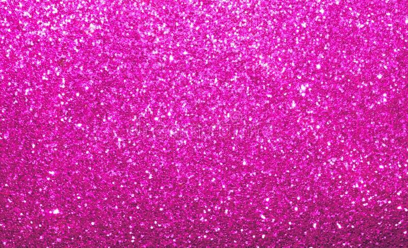 Fondo rosa luminoso vibrante di scintillio immagini stock