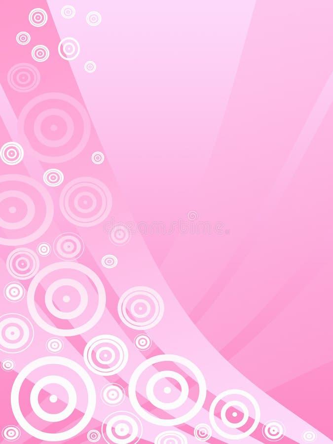Fondo rosado ilustración del vector