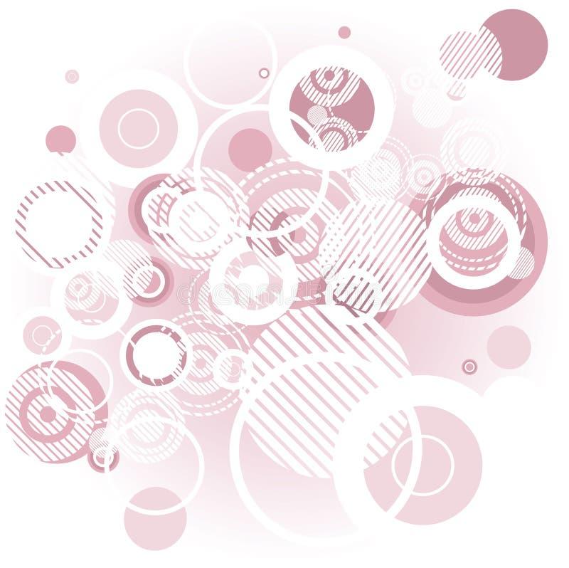 Fondo rosado abstracto libre illustration