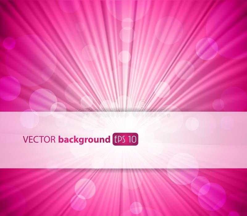 Fondo rosado abstracto. ilustración del vector