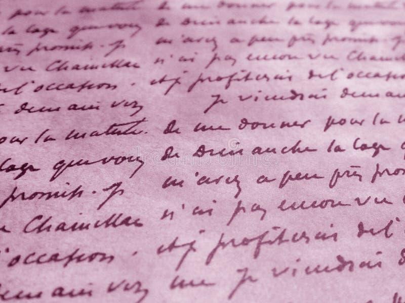 Fondo rosado con palabras imagenes de archivo