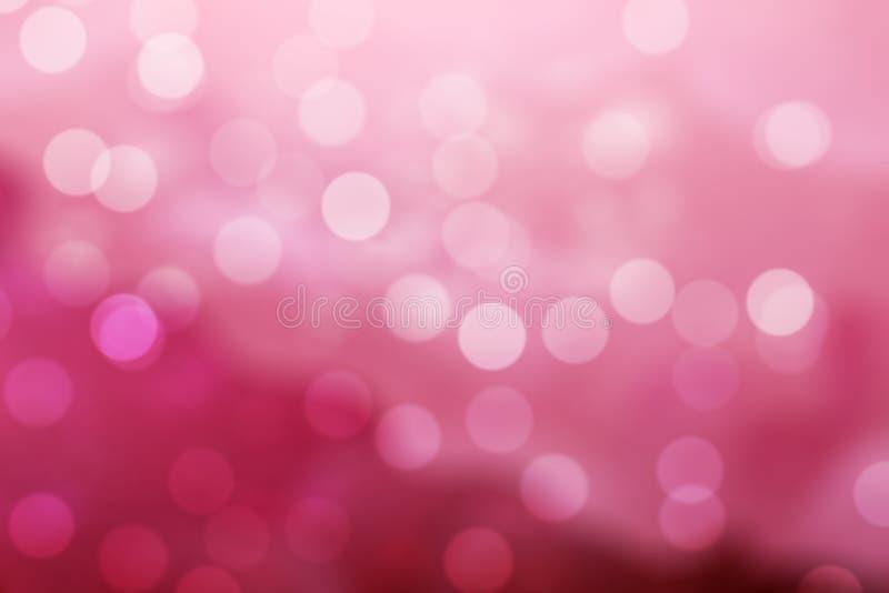 Fondo rosado de Bokeh foto de archivo