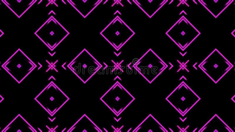 Fondo rosado de la danza del disco ilustración del vector