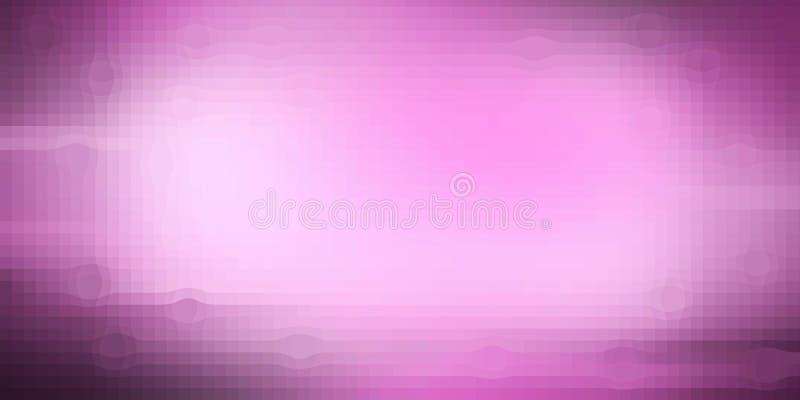 Fondo rosado de la textura del pixel del color de Florencia ilustración del vector
