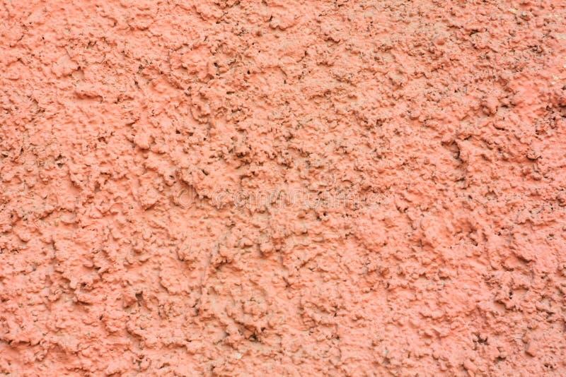 Fondo rosado de la vendimia Textura del yeso del cemento Pared pintada áspera del color de la fiesta Copie el espacio imagen de archivo libre de regalías