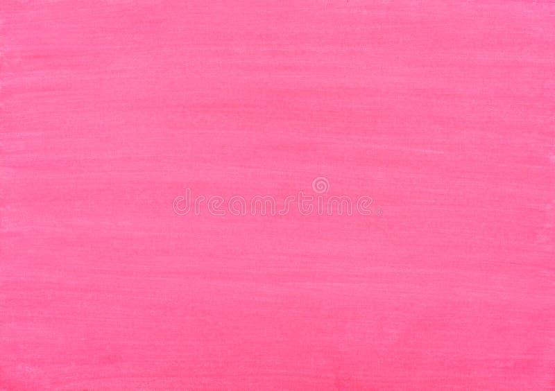 Fondo rosado de movimientos de la acuarela libre illustration