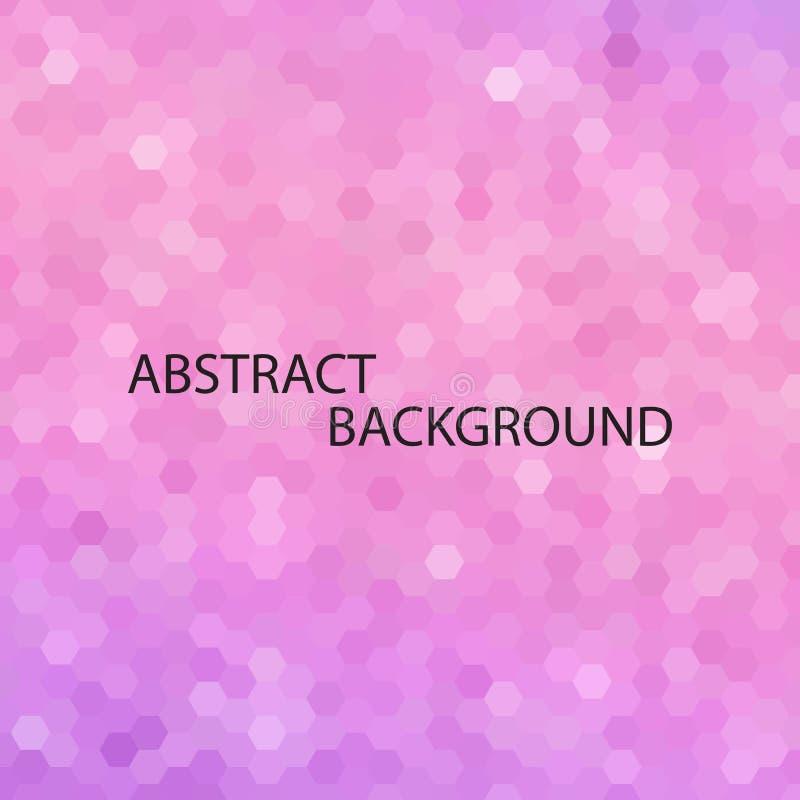 Fondo rosado del brillo de la pendiente de la lila Ilustraci?n del vector EPS 10 ilustración del vector