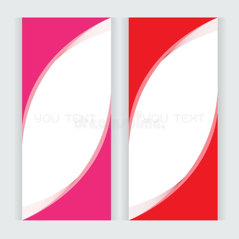 Fondo rosado determinado de las letras de la onda de las curvas del vector libre illustration