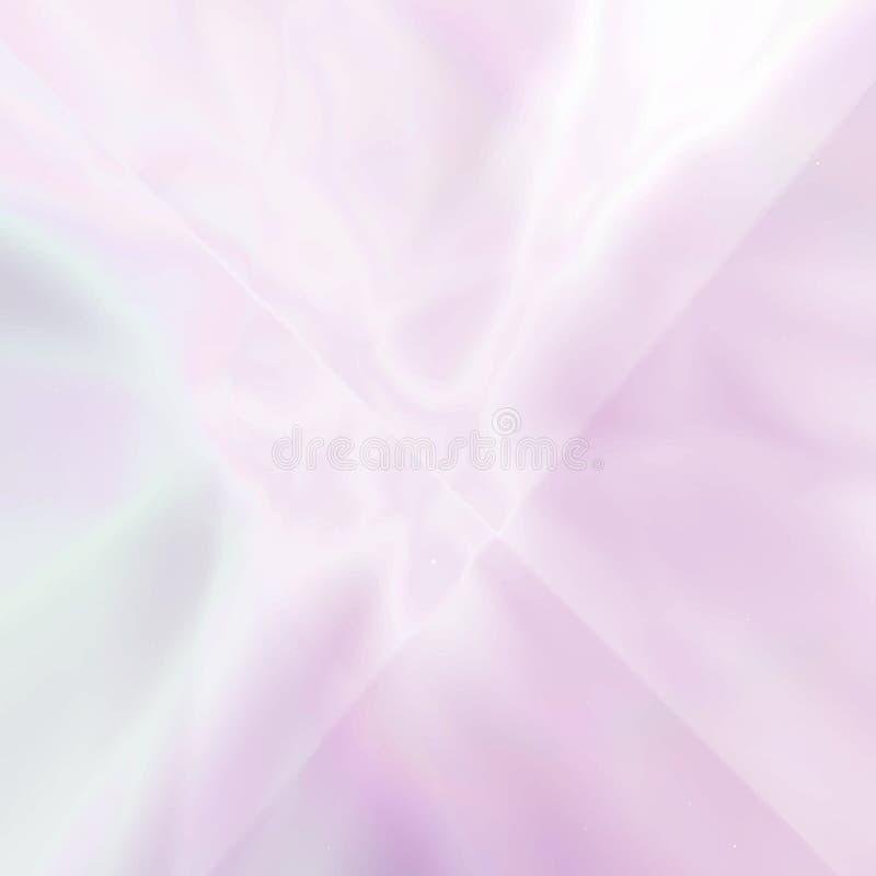 Fondo rosado olográfico borroso extracto ilustración del vector